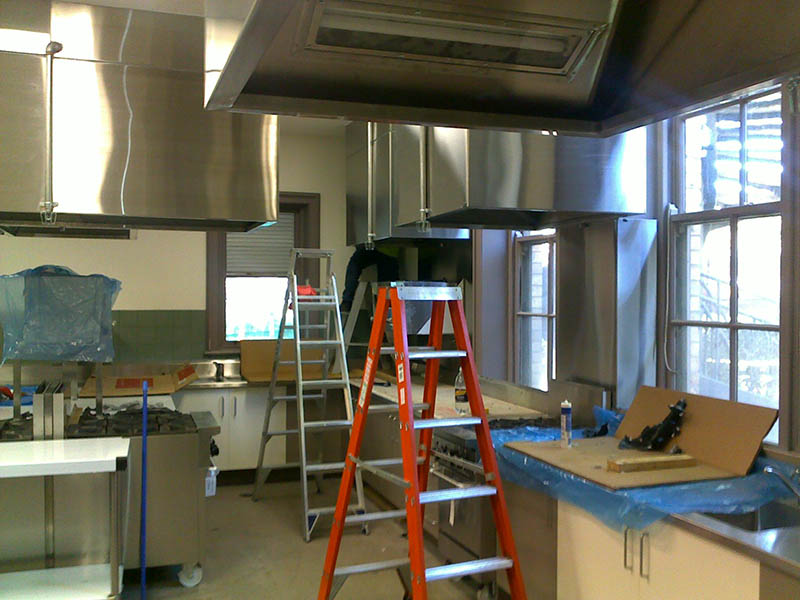 Vic School for the Deaf - Kitchen Canopies #1